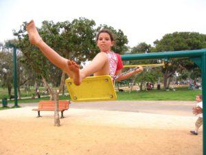 תמונת ילדות, פארק הירקון