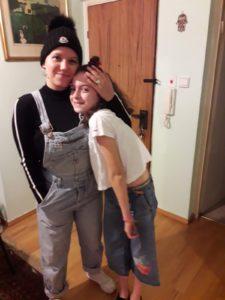 תרין ודניאל חזן שלפי - בת דודתה