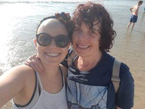תרין וורדית שלפי - אמא שלה, טיול בחוף הים