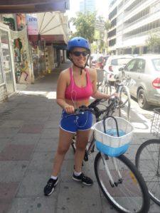 תרין, רכיבת בוקר באופניים