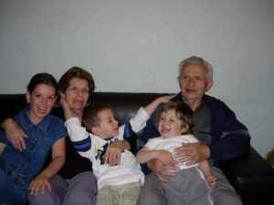 תרין עם משפחה